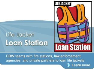 Life Jacket Loan Station
