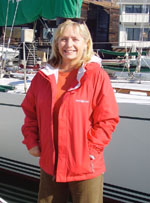 Lorie Haney, Winner of a West Marine jacket
